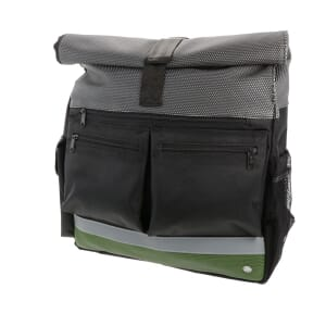 "Lago - spacious and water-repellent 17"" laptop backpack - green"