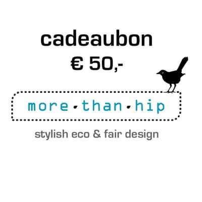 Op FairFrog: Morethanhip Cadeaubon T.W.V. 50,-