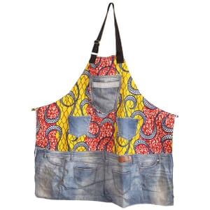 Capocuoco - kookschort - Italiaans ecodesign: Africa&Jeans