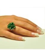 Chirilla ring - verstelbaar - diverse kleuren-groen