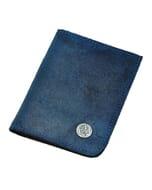 Dinero - portemonnee van ecoleer - blauw