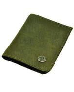 Dinero - portemonnee van ecoleer - legergroen
