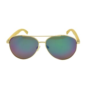 Disaster - hip sunglasses with bamboo temples