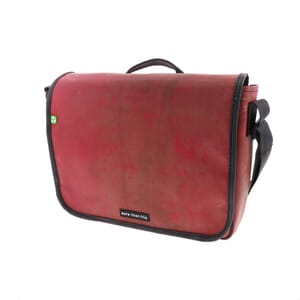 Paris – strong 13,3 inch laptop bag from recycled truck tarpaulin
