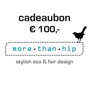 MoreThanHip Cadeaubon t.w.v. €100,-