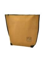 Locca - urban shopper, schouder-/ en rugtas van gerecycled papier - camel bruin