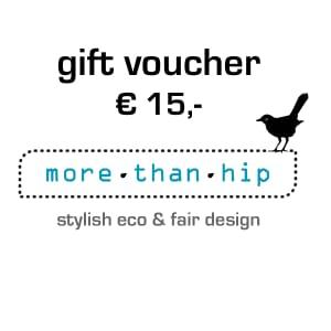 gift voucher eco & fair design