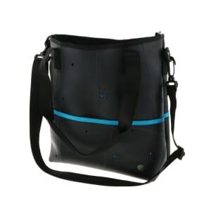 Zina - Dames schoudertas en handtas in één - turkoois