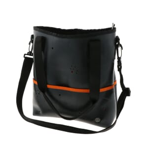 Zina - schoudertas en handtas in één - oranje