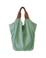 Hava bag - hippe katoenen schoudertas - mint groen