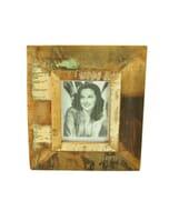 Vintage fotolijst van sloophout – groot