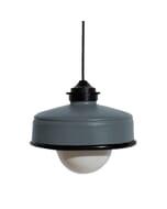 Iliui - Hanglamp van gerecycled  Illy koffieblik - grijs