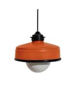 Iliui - Hanglamp van gerecycled  Illy koffieblik - oranje