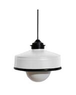 Iliui - Hanglamp van gerecycled  Illy koffieblik - wit
