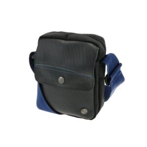 Mo city bag - small shoulder bag tyre tube - dark blue