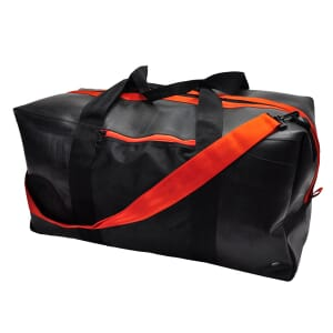 Viajero - large bag from tyre tube - orange