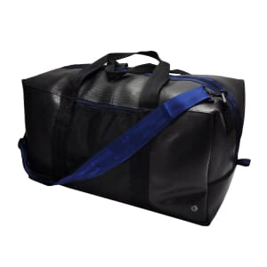 Viajero - large bag from tyre tube - dark blue