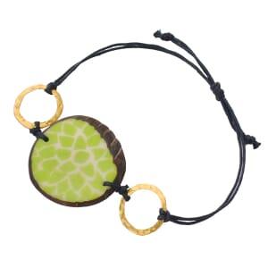 Margarita - armband van tagua - groen