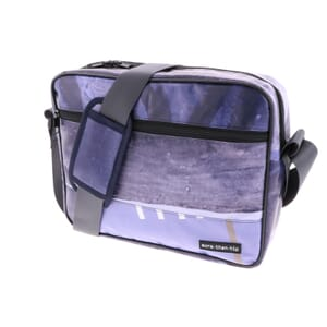 "Jerzy – 13.3""  laptopbag from recycled billboards - one of a kind"