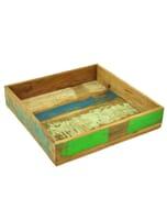 Decoratieve schaal van vintage sloophout – medium