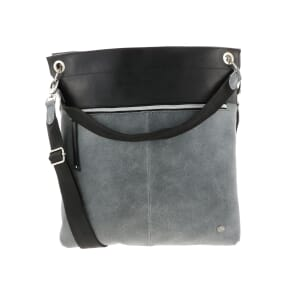 Muchacha - shoulder bag from inner tube and eco leather - grey