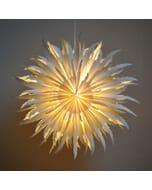 Jay - decoratieve witte papieren hanglamp