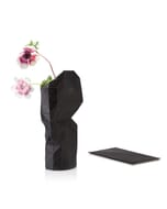 Paper vase cover - Dutch designvaas - zwart