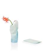 Paper Vase Cover klein Dutch Design - blauw tinten