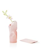 Paper Vase Cover klein Dutch Design - roze tinten