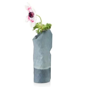 Paper Vase Cover klein Dutch Design - watercolour blue
