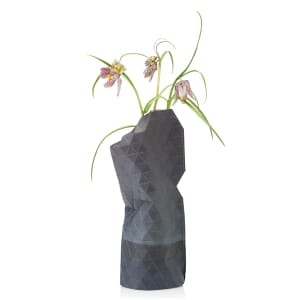 Paper Vase Cover klein Dutch Design - watercolour grey
