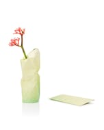 Paper Vase Cover klein Dutch Design - geel tinten