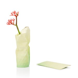 Paper Vase Cover klein Dutch Design - geel tinten