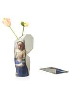 Paper vase cover - Dutch designvaas - Melkmeisje Vermeer