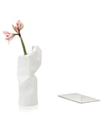 Paper vase cover - Dutch designvaas - wit