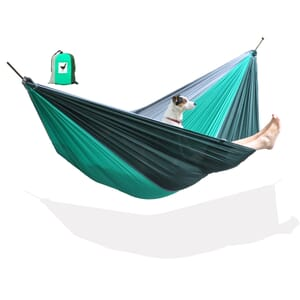 Reishangmat parachute groen