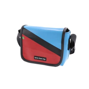 Amsterdam - small shoulder bag from recycled truck tarpaulin