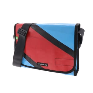 Oslo - messenger bag from recycled truck tarpaulin