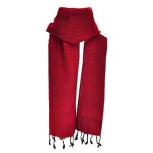 Yaku - scarf from yak wool - red