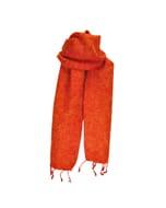 Yaku - 'yakwol' sjaal - oranje