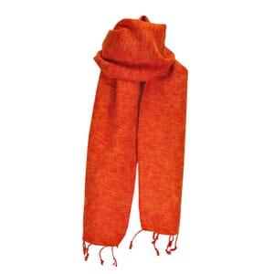 Yaku - scarf from yak wool - orange