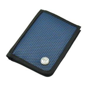 Valle – sporty and strong men's wallet - blue