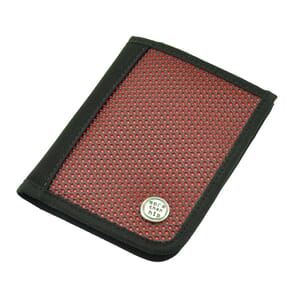 Valle – sporty and strong men's wallet - red