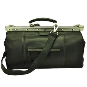Vermont - classic doctor's case of black leather