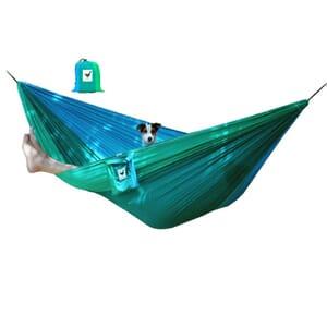 XXL double (travel) hammock parachute silk Ocean