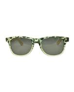 Spin - retro dames zonnebril met bamboe pootjes